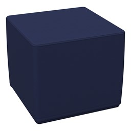 Foam Soft Cube Seat - Navy
