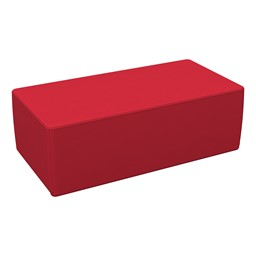 """Foam Soft Seating - Red Rectangle (12"""" H)"""