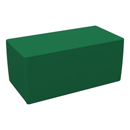 "Foam Soft Seating - Green Rectangle (16\"" H)"