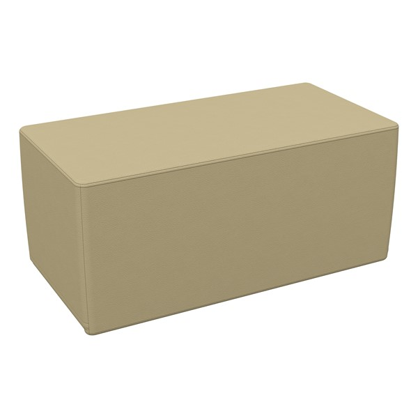 """Foam Soft Seating - Sand Rectangle (16"""" H)"""