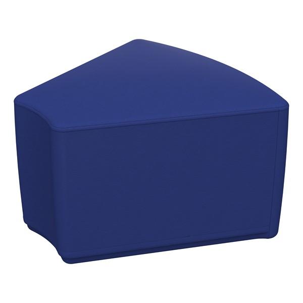 """Foam Soft Seating - Blue Wedge (12"""" H)"""