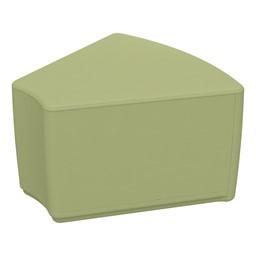"""Foam Soft Seating - Fern Green Wedge (12"""" H)"""