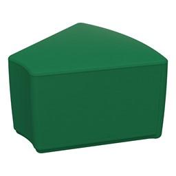 """Foam Soft Seating - Green Wedge (12"""" H)"""