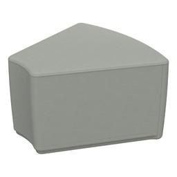 "Foam Soft Seating - Gray Wedge (12"" H)"