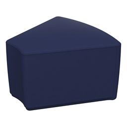 "Foam Soft Seating - Navy Wedge (12"" H)"