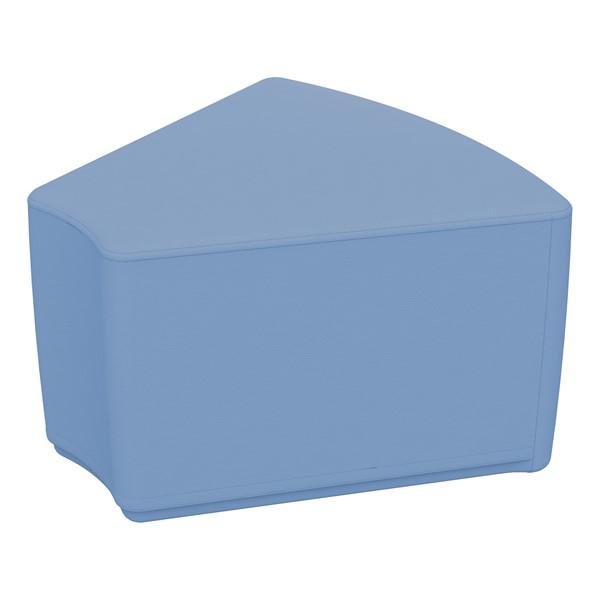 "Foam Soft Seating - Powder Blue Wedge (12"" H)"