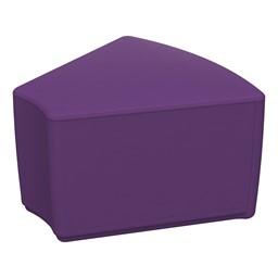 "Foam Soft Seating - Purple Wedge (12"" H)"