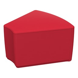"""Foam Soft Seating - Red Wedge (12"""" H)"""