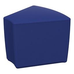 """Foam Soft Seating - Blue Wedge (16"""" H)"""