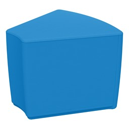 """Foam Soft Seating - French Blue Wedge (16"""" H)"""