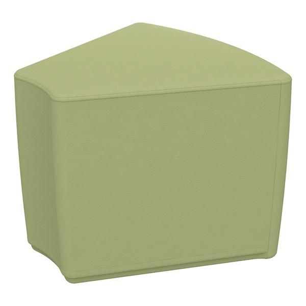 """Foam Soft Seating - Fern Green Wedge (16"""" H)"""