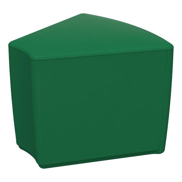 """Foam Soft Seating - Green Wedge (16"""" H)"""