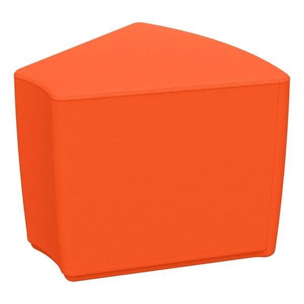 """Foam Soft Seating - Orange Wedge (16"""" H)"""