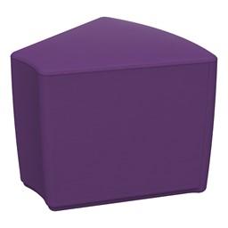 "Foam Soft Seating - Purple Wedge (16"" H)"