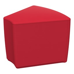 """Foam Soft Seating - Red Wedge (16"""" H)"""