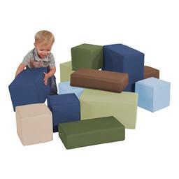 Chunky Block Set - Earthtone