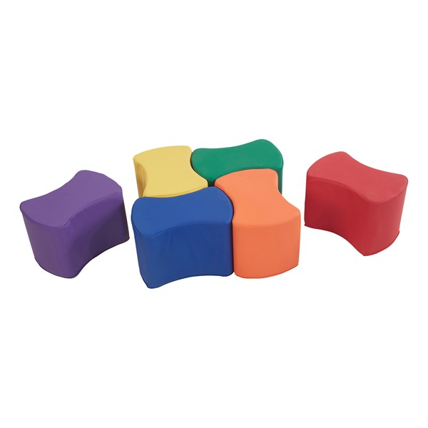 Foam Soft Seating - Bow Tie Set - Primary