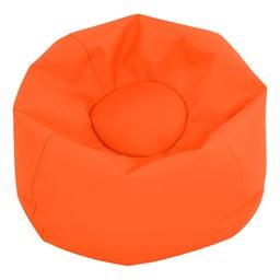 "Round Bean Bag - Orange (26"" D)"
