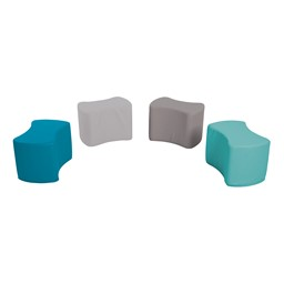 Foam Soft Seating - Bow Tie Set - Contemporary