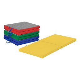 "Premium Two-Fold Nap Mat - 2"" Thick - Pack of Four - Assorted"