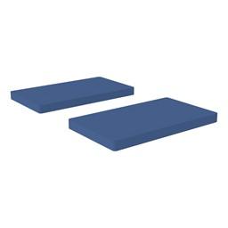 Premium Rectangular Floor Mats - Navy