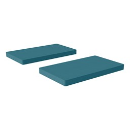 Premium Rectangular Floor Mats - Teal