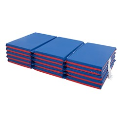 """Three-Fold Rest Mat – 2"""" Thick (48"""" L x 24"""" W) - Stacked"""