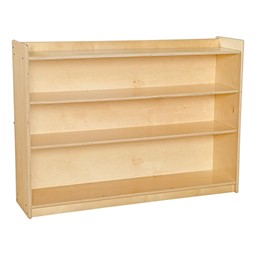 Mobile Adjustable Bookcase w/ Lip