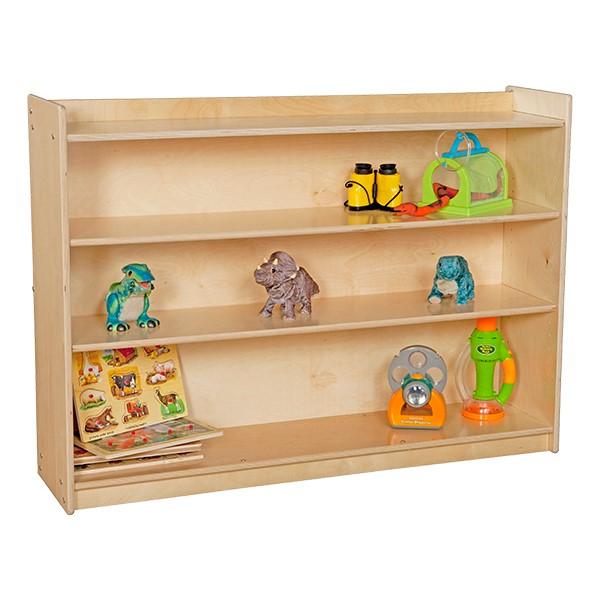 Mobile Adjustable Bookcase w/ Lip