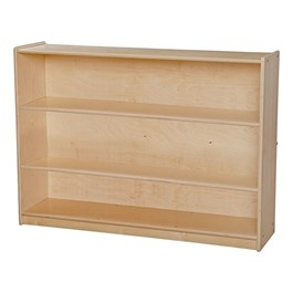 Mobile Adjustable Bookcase w/o Lip