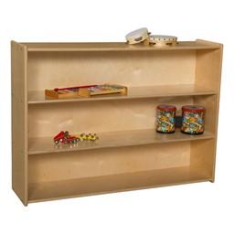 Mobile Adjustable Bookcase w/o Lip
