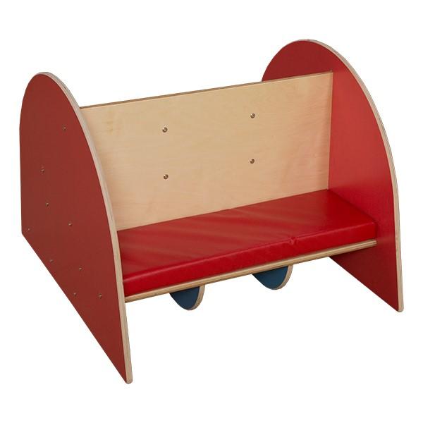 Bookcase w/ Seat Cushion - Back