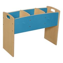 Blue Bookwell - Unassembled