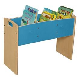 Blue Bookwell - Assembled