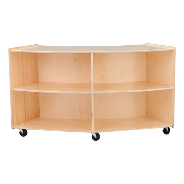 "Convex Mobile Storage Shelving 36"" H - Unassembled"