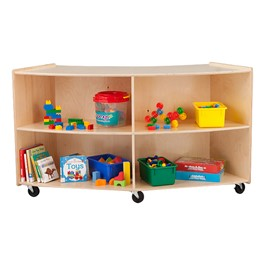 "Convex Mobile Storage Shelving 36"" H - Assembled"