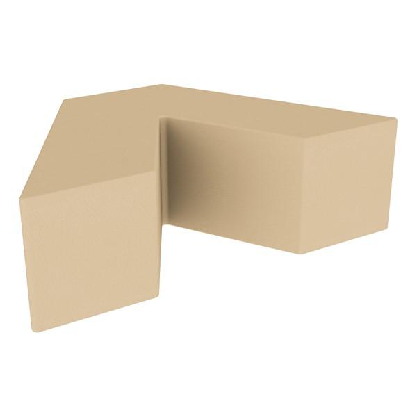 "Foam Soft Seating - V-Shape (12"" H) - Sand"