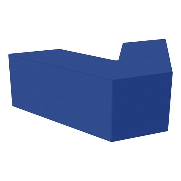 "Foam Soft Seating - V Shape (12"" H) - Blue"