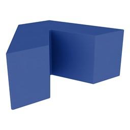 "Foam Soft Seating - V Shape (16"" H) - Blue"