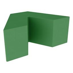 "Foam Soft Seating - V-Shape (16"" H) - Green"