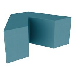 """Foam Soft Seating - V Shape (16"""" H) - Teal"""