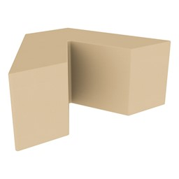 "Foam Soft Seating - V Shape (16"" H) - Sand"