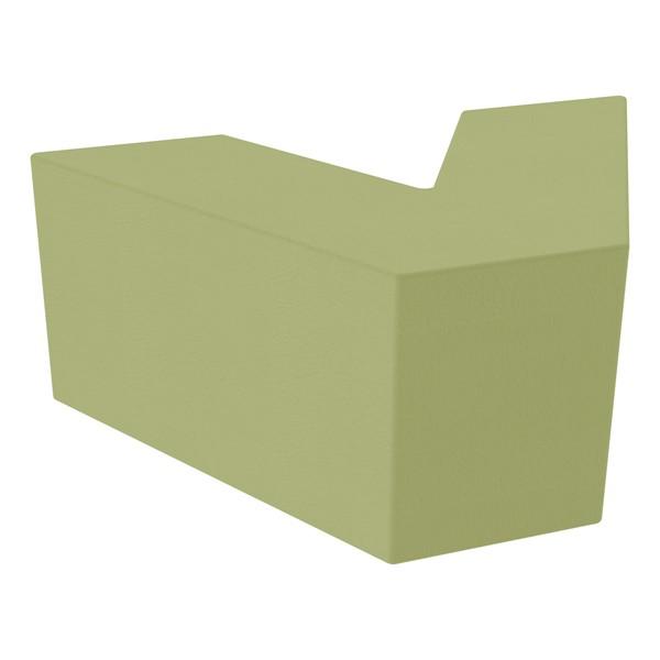 "Foam Soft Seating - V-Shape (16"" H) - Fern Green"