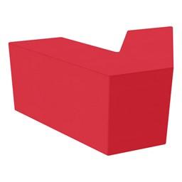 "Foam Soft Seating - V-Shape (16"" H) - Red"
