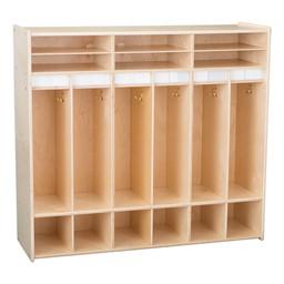 Classroom Open Shelf Locker