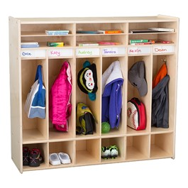 Classroom Open Shelf Locker