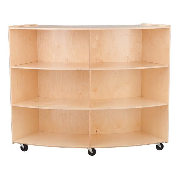 "Convex Mobile Storage Shelving 48"" H - Assembled"