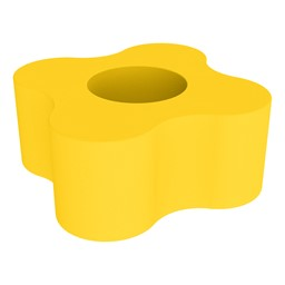 Foam Soft Seating - Four Point Gear- Yellow