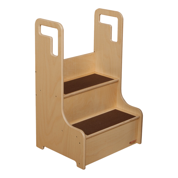Sprogs Wooden Step Stool At School Outfitters