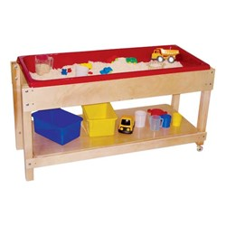 Sand & Water Table w/ Shelf